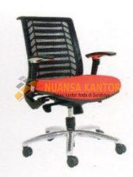 jual Kursi Staff Kantor Chairman TS 01603 A (Black Mesh) surabaya