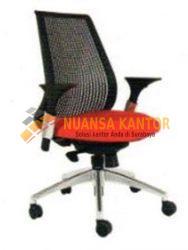 jual Kursi Staff Kantor Chairman TS 01703 A (Black PA Shell) surabaya