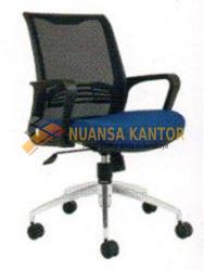 jual Kursi Staff Kantor Chairman TS 01803 A (Black Mesh) surabaya