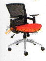 jual Kursi Staff Kantor Chairman TS 01903 A (Black Mesh) surabaya