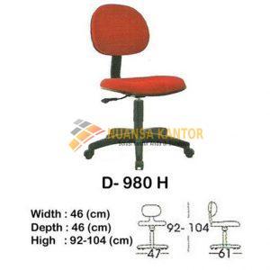 Kursi Kantor Indachi Type d 980 h