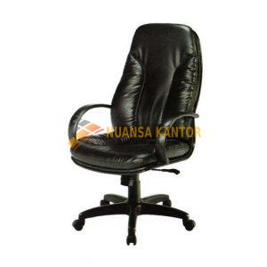 Kursi Direktur Kantor ERGOTEC 900 TL (Black Leather)