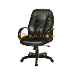 Kursi Staff ERGOTEC 901 PL (Black Leather)