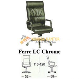 jual Kursi Kantor Subaru Ferre LC Chrome surabaya