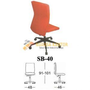 Kursi Kantor Subaru SB 40