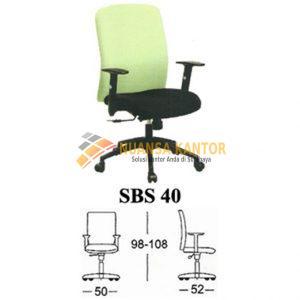 Kursi Kantor Subaru SBS 40
