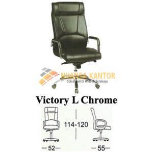 jual Kursi kantor Subaru Victory L Chrome Surabaya
