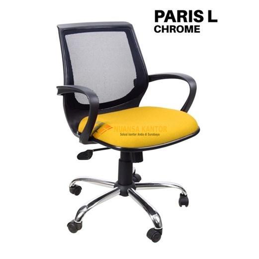 Kursi Kantor Uno Paris L Chrome