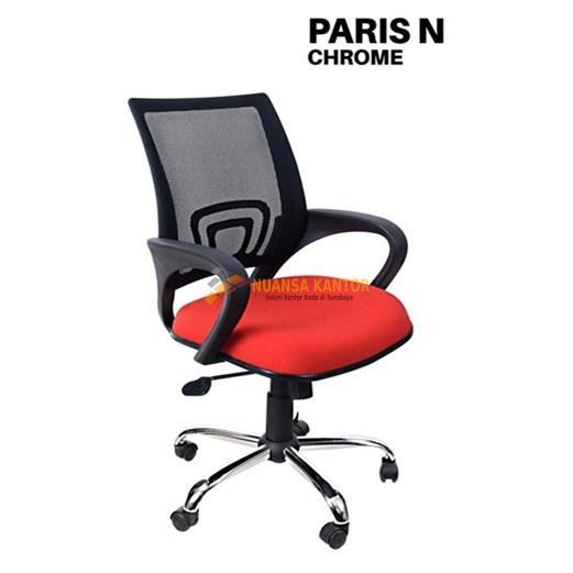 Kursi Kantor Uno Paris N Chrome