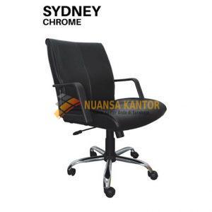 jual Kursi Kantor Uno Sydney Chrome surabaya