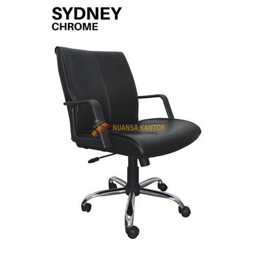 Kursi Kantor Uno Sydney Chrome